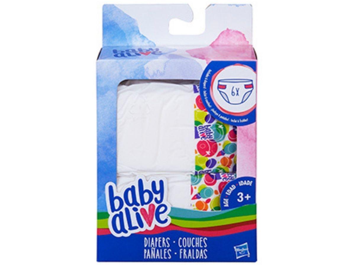 Refil de fraldas para boneca Baby Alive - Hasbro  - Kaiuru Kids