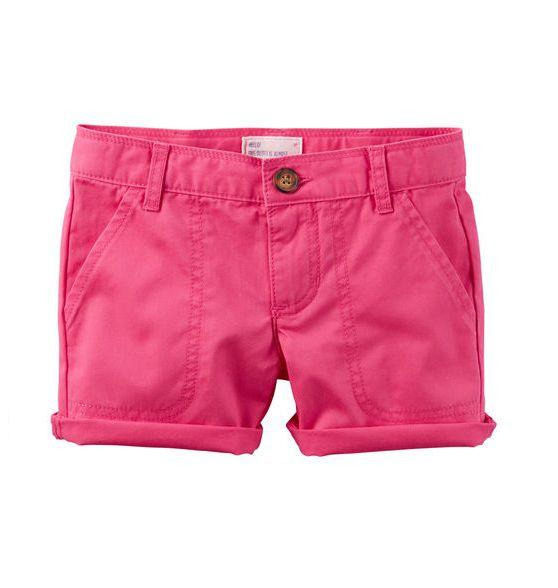 Short de sarja rosa - Carter