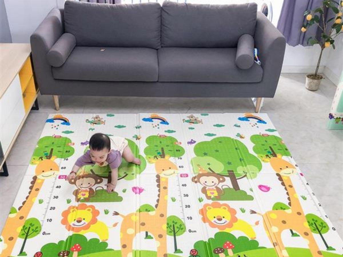 Tapete de atividades dobrável Nap N Play - Multikids Baby  - Kaiuru Kids