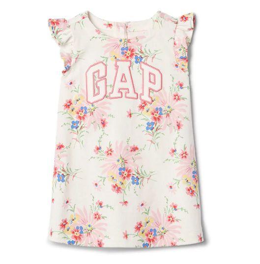 Vestido floral - GAP  - Kaiuru Kids
