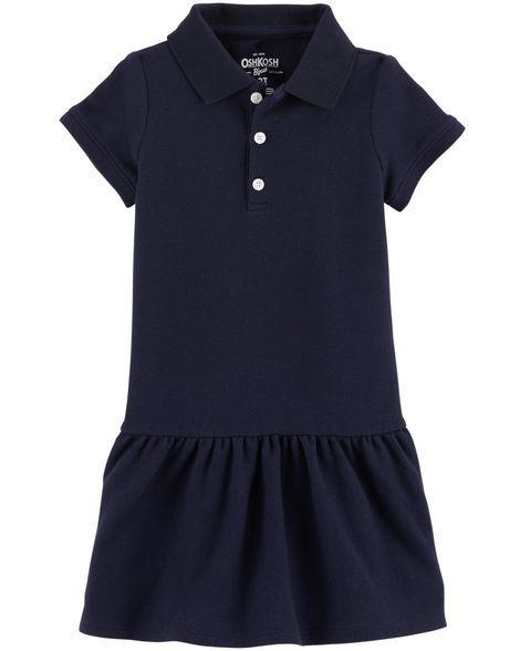 Vestido polo azul marinho - OshKosh  - Kaiuru Kids
