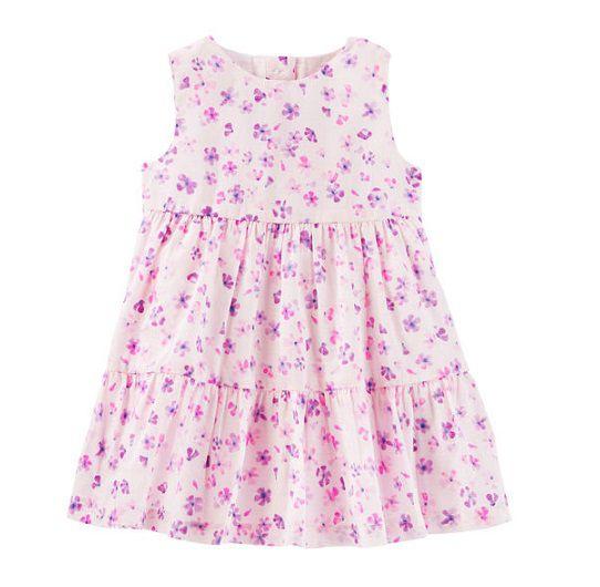 Vestido rosa floral - Carter
