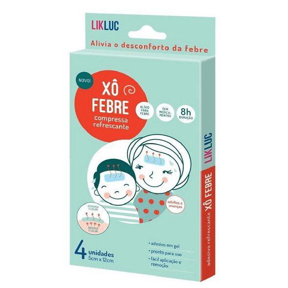 Xô febre compressas refrescantes para o alívio da febre - LICLUK  - Kaiuru Kids