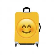 Capa Protetora Grande para Mala de Viagem - Emoji - Skinbag