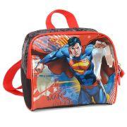 Lancheira Infantil Escolar Térmica para Meninos - Superman - Luxcel