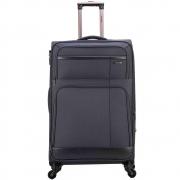 Mala de Viagem Média (23 kg) em Poliéster com Rodas 360º e Cadeado TSA - Dalian - Santino