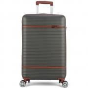 Mala de Viagem Pequena de Mão Padrão Bordo (10kg) com Rodas Duplas 360° - Genebra - Polo King