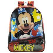 """Mochila Escolar Infantil 16""""  De Costas Para Meninos - Mickey Mouse - Xeryus"""