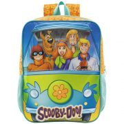 """Mochila de Costas Escolar 14"""" - Scooby-Doo - Xeryus"""