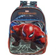 Mochila De Costas Escolar Para Meninos - Homem Aranha - Xeryus