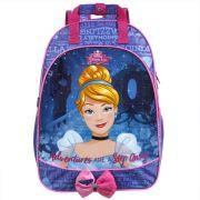 Mochila Escolar de Costas Impermeável da Cinderela - Princesas da Disney - Dermiwil
