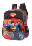 Mochila Escolar Infantil Impermeável para Meninos - Super Homem - Luxcel