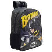 "Mochila Infantil Escolar para Meninos 14"" - Batman - Xeryus"