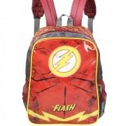 Mochila Infantil Escolar para Meninos Super-Herói - The Flash - Luxcel