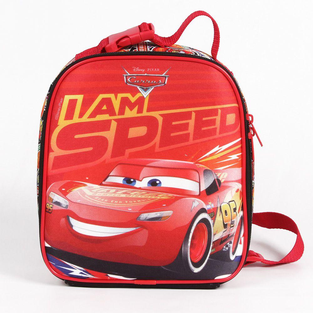 Lancheira Escolar Infantil Carros Para Meninos - Mc Queen - Dermiwil
