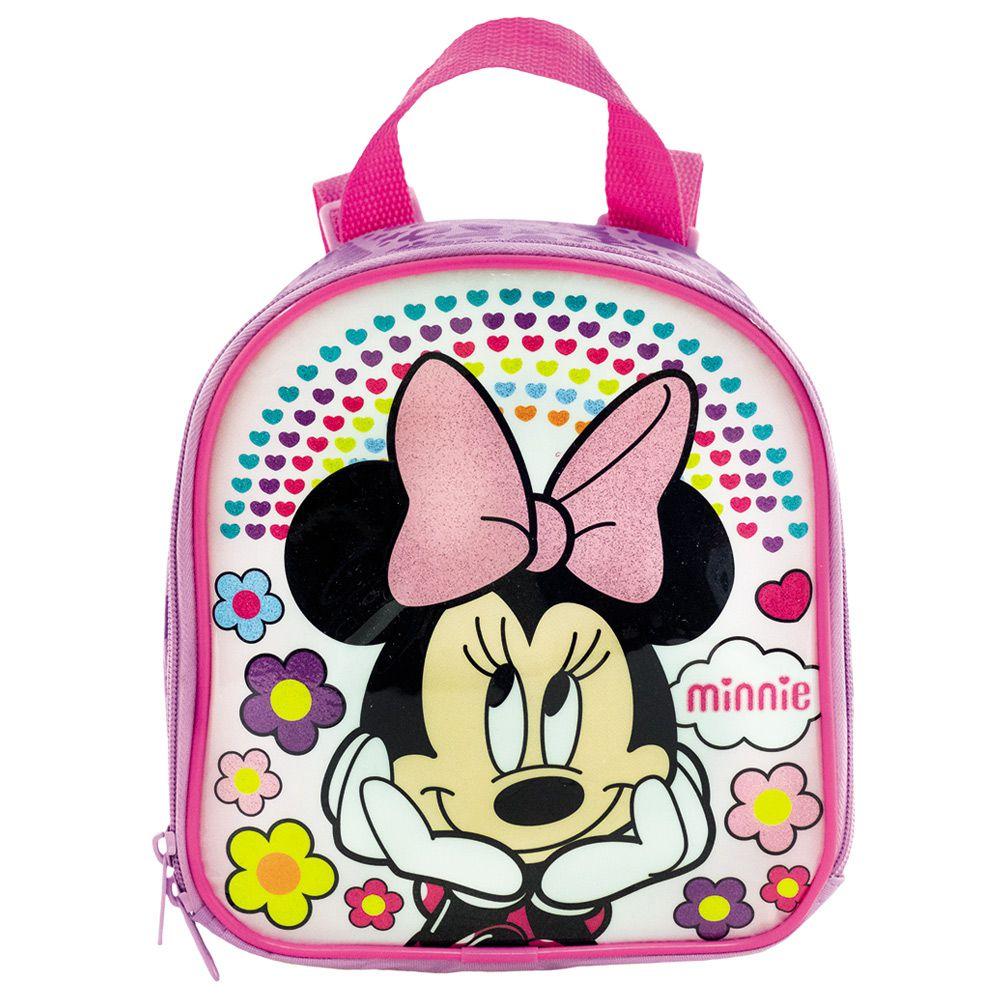 Lancheira Escolar Minnie Infantil Térmica Para Meninas - Xeryus