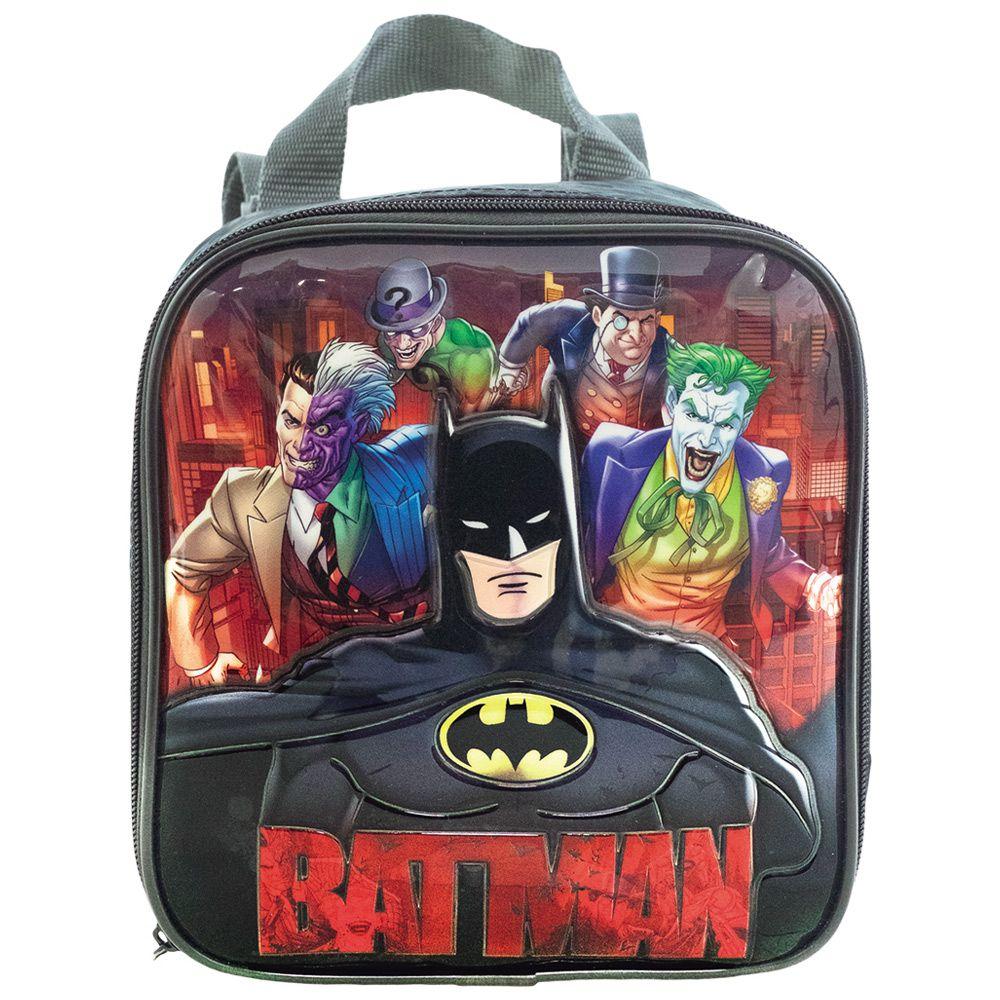 Lancheira Escolar Para meninos - Batman - Xeryus