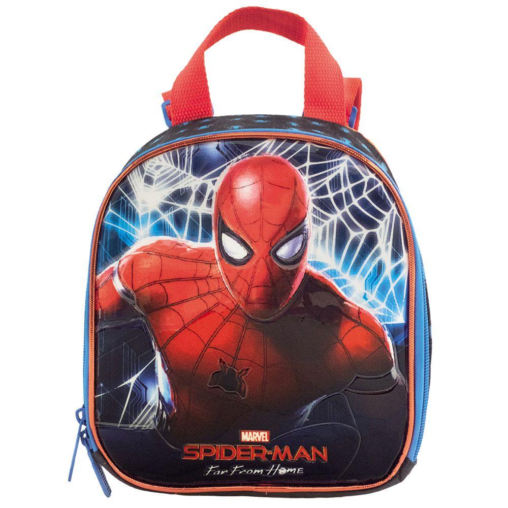 Lancheira para Meninos Escolar Infantil - Homem Aranha - Xeryus