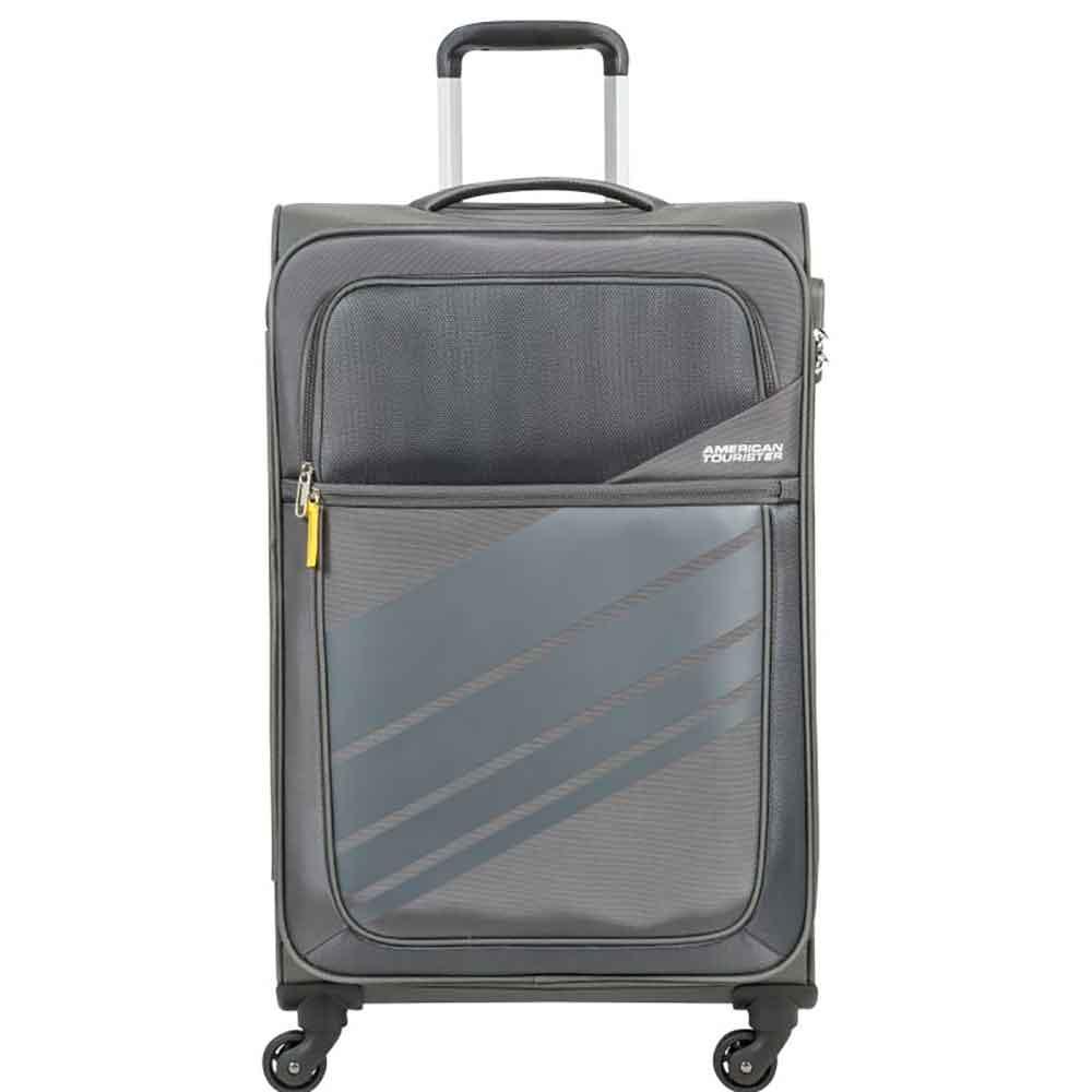 Mala de Viagem Grande (32 kg) em Poliéster Leve com Rodas 360º - Stirling Light - American Tourister