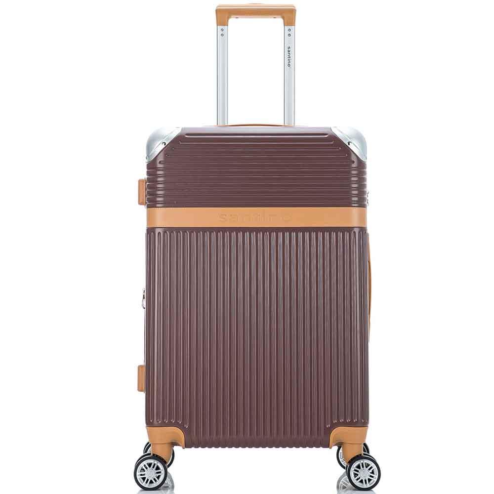 Mala de Viagem Média (23 kg) Rígida em ABS com Rodas Duplas 360º e Cadeado TSA - Osaka - Santino