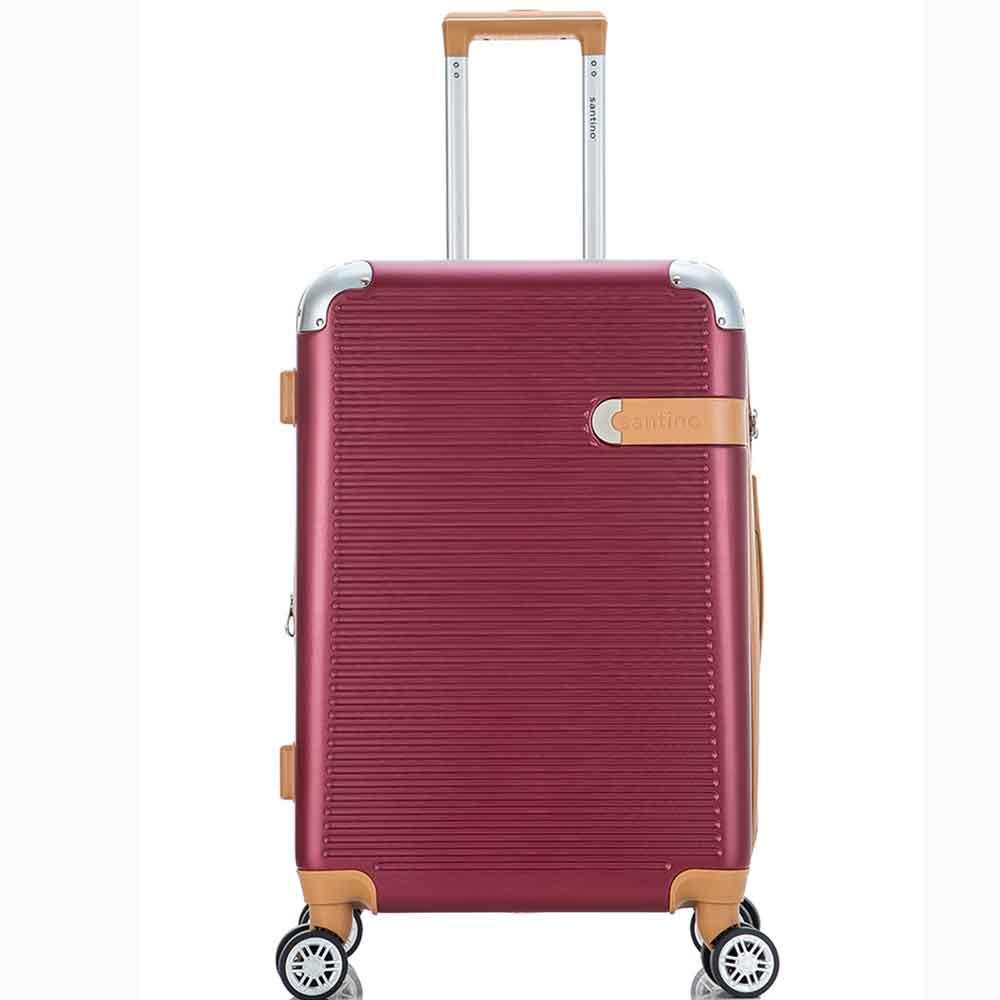 Mala de Viagem Média (23 kg) Rígida em ABS com Rodas Duplas 360º e Cadeado Tsa - Seul - Santino
