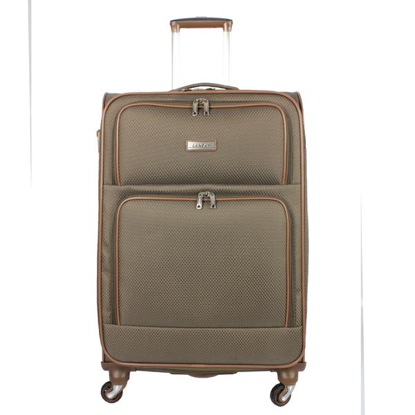 Mala de Viagem Média (23kg) Impermeável com Cadeado TSA Rodas Giro 360 Graus - Ideal Soft - Lansay