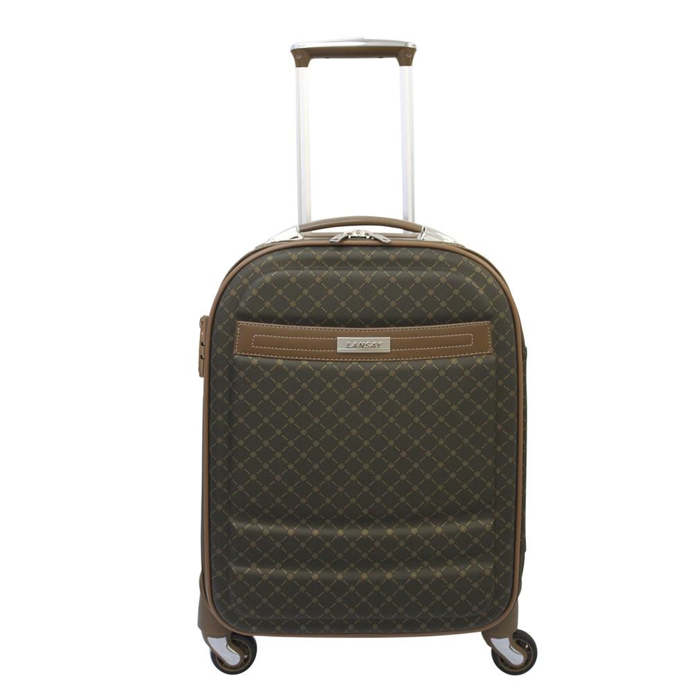 Mala Pequena de Bordo (10 kg) para Viagem em Vinil Padrão Anac com Cadeado TSA - Saint Tropez - Lansay