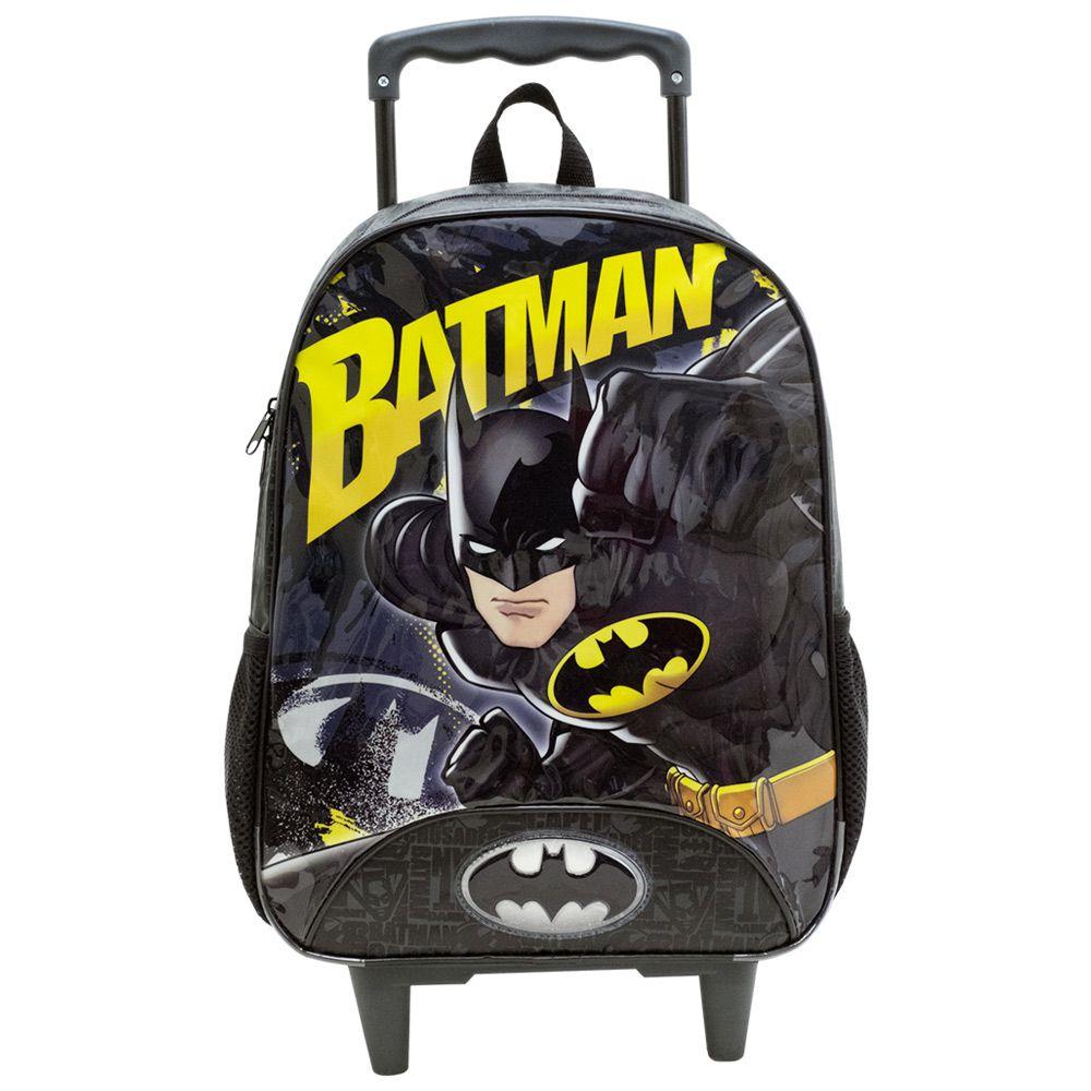 """Mochila com Rodas Para meninos 14"""" - Batman _ Xeryus"""