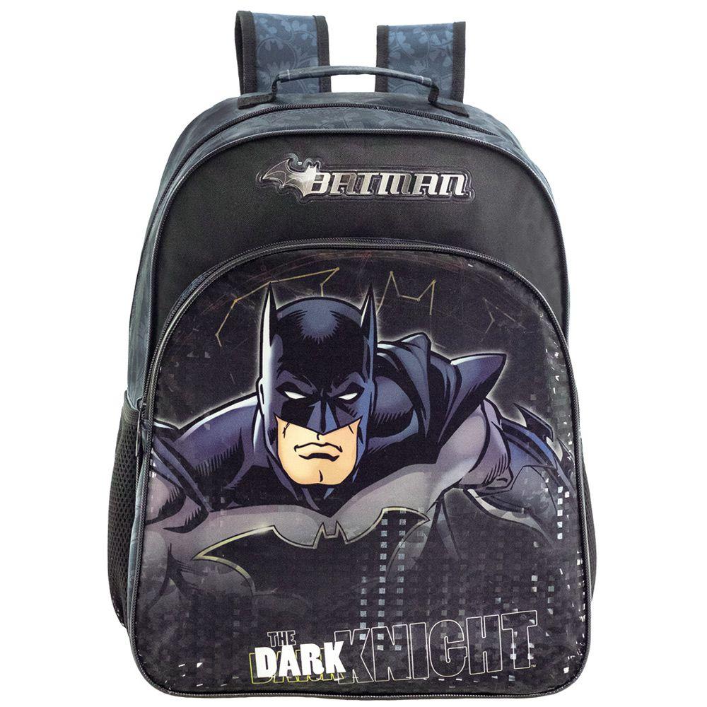 Mochila de Costas Escolar Infantil Masculina - Batman - Xeryus