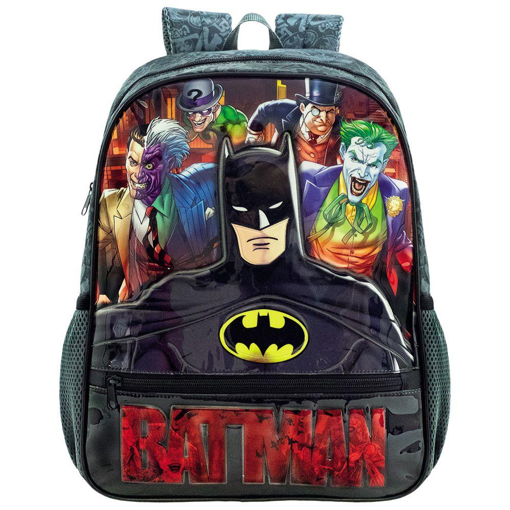 Mochila escolar de Costas Para Meninos - Batman - Xeryus