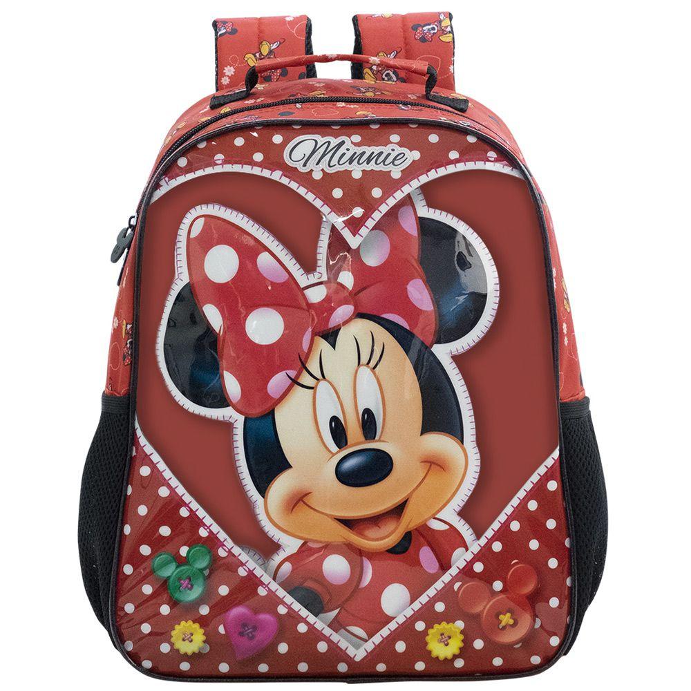 Mochila Escolar Infantil da Minnie 16