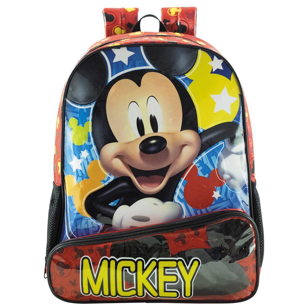 Mochila Escolar Infantil Mickey Mouse 14