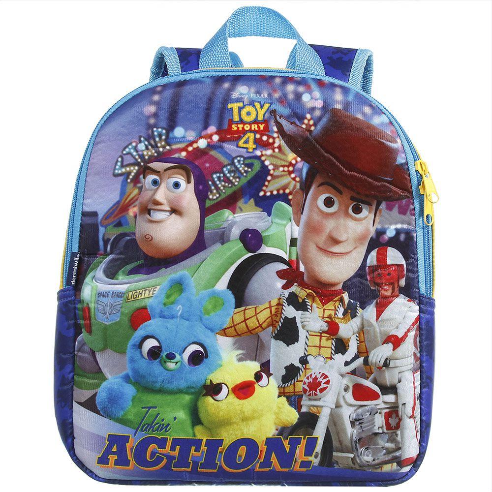 Mochila Infantil Escolar de Costas Masculina - Toy Story 4 - Dermiwil