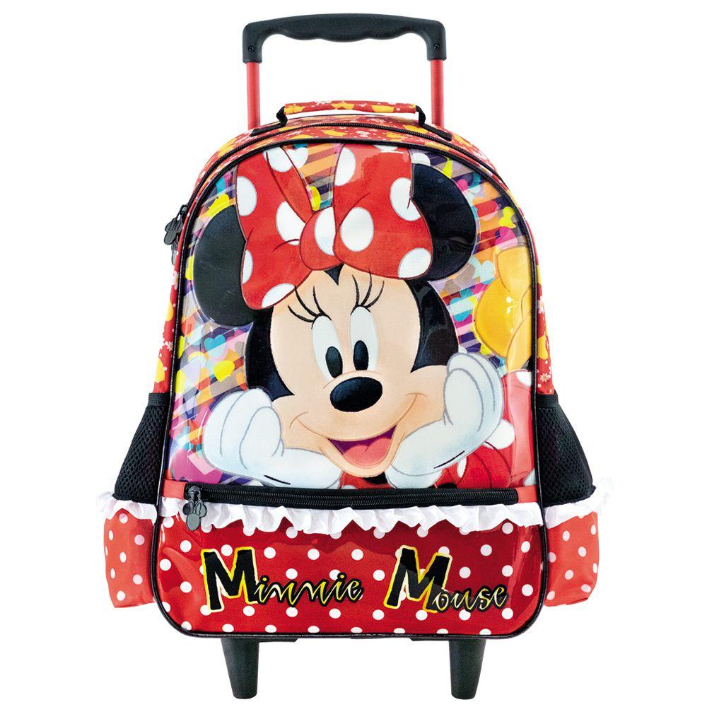 Mochila Infantil Escolar Minnie para Meninas 16