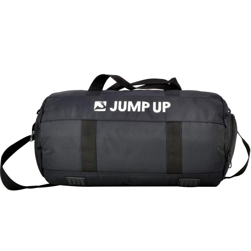 Sacola Fitness para Academia com Compartimento para Calçados e Bolso Impermeável - Jump Up