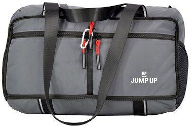 Sacola Impermeável Retrátil para Academia ou Viagem com Bolsos Organizadores - Jump Up