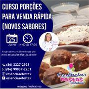 25/06- Curso de bolos porções para venda rápida (novos sabores), com Sayd Sabá das 14h às 17:30h