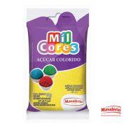 Açúcar Colorido Amarelo Mil Cores - 80g