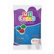 Açúcar Colorido Azul Mil Cores 500g
