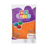 Açúcar Colorido Laranja Mil Cores 500g