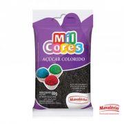 Açúcar Colorido Preto Mil Cores - 80g
