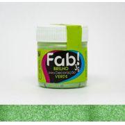 Brilho para decoração Verde Fab! 3g