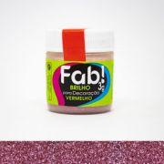 Brilho para decoração Vermelho Fab! 3g