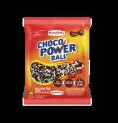 Cereal Drageado Micro Sabor Chocolate e Chocolate Branco Choco Power Ball 80g - Mavalerio