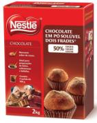 CHOCOLATE EM PÓ DOIS FRADES 50%, NESTLE 2Kg