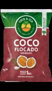 COCO FLOCADO QUEIMADO 1 kg - COCO & CIA