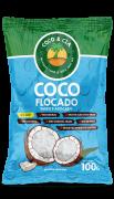 Coco Flocado úmido e adoçado 100g -  Coco & Cia