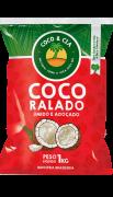 COCO RALADO ÚMIDO E ADOÇADO 1 kg - COCO & CIA