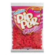 Confeito Pipper Coração Morango Vermelho - 500g