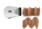 Bico de Confeitar Serra Inox Mod.2B - Wilton
